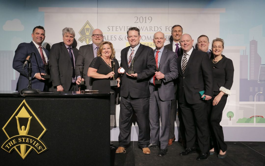 Visualize takes home Gold Stevie award for Sales Consulting Practice of the Year
